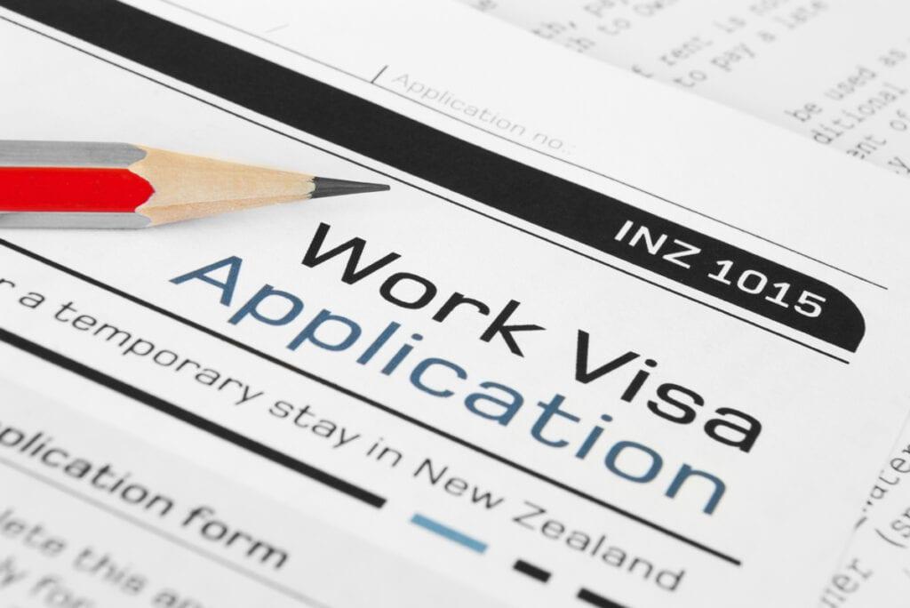 Onshore Work Visa Application